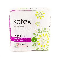 Kotex Odour-Care Overnight - 32cm - Wing - 6 Pads