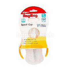 Pigeon MagMag Botol Bercorot Langkah 2 untuk Umur 5+ Bulan