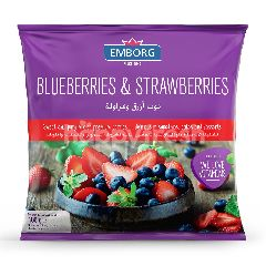 Emborg Frozen Blueberries And Strawberries