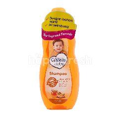 Cussons Sampo Bayi Natural dengan Minyak Almond dan Madu