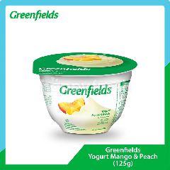 Greenfields Yogurt Rasa Mangga dan Persik