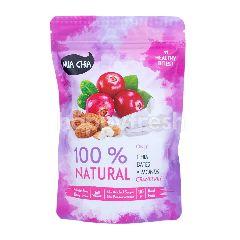 Mia Chia Makanan Ringan Berenergi Rasa Almond dan Cranberry