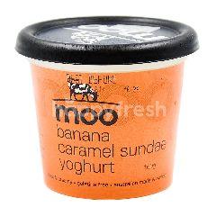 Moo Banana Caramel Sundae Yogurt