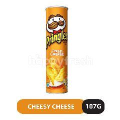 Pringles Cheesy Cheese Flavour Potato Crisps