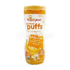 Organics Happy Baby Superfood Puffs Veggie, Fruit & Grain Puffs (Banana Pumpkin)