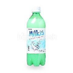 Lotte Milkis Carbonated Milk And Yogurt Flavored Drinks