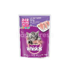 Whiskas Pouch Cat Wet Food Junior Mackerel 85G Cat Food
