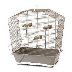 Savic Camille 30 Warm Grey Bird Cage