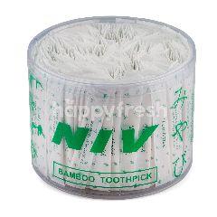 เอ็น.ไอ.วี.เครื่องครัว ไม้จิ้มฟันอนามัยแพ็คซองความยาว 6.5 ซม. 500 ชิ้น