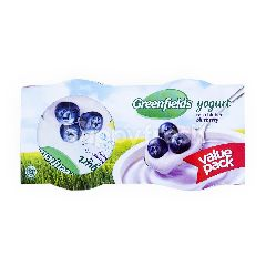 Greenfields Yogurt Rasa Bluberi Kemasan Hemat