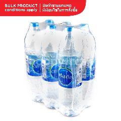 คริสตัล น้ำดื่ม 1.5 ลิตร (แพ็ค 6)