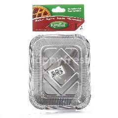 Kingfoil Wadah Makanan Alumunium Foil Berbentuk Kotak