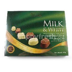 Alfredo Cokelat Susu dan Cokelat Putih