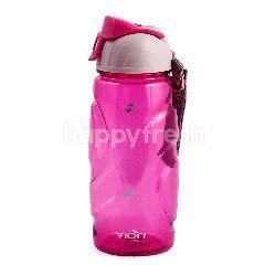 Viori Botol Minum Olahraga Merah Jambu 500ml