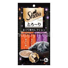 Sheba Melty Cat Treat Tuna & Tuna Seafood 48G Cat Snack