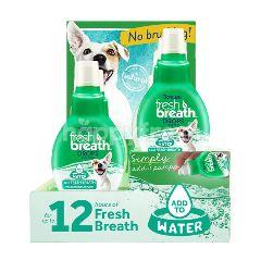 ทรอปิคลีน เฟรซ เบรธ ดรอป ผลิตภัณฑ์สำหรับผสมน้ำดื่ม สำหรับสุนัข ลดกลิ่นปาก 65 มล.