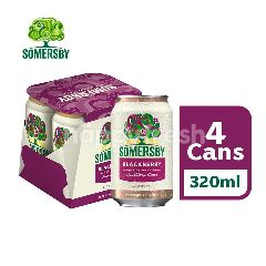 Somersby Blackberry Cider Can (320ml x 4)