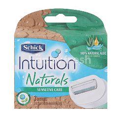 Schick Intuition Naturals Sensitive Care Razor For Men