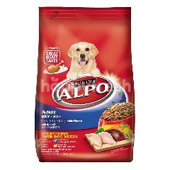Alpo Makanan Anjing Dewasa dengan Ayam Hati & Sayuran