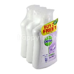 Dettol Buy 2 Free 1 Sensitive Anti Bacterial pH Balanced Handwash