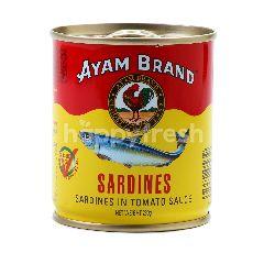 Ayam Brand Sarden dengan Saus Tomat