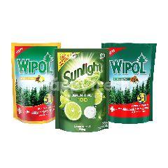 Unilever Paket Komplit Sunlight dan Wipol