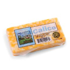 California Premium Calico - Cheddar And Monterey Jack Cheese Block