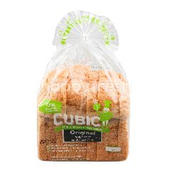 คิวบิค ขนมปังโฮลวีต ดั้งเดิม 360 กรัม