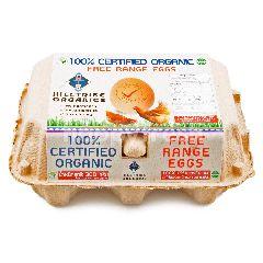 ฮิลไทรบ์ ออร์แกนิคส์ ไข่ไก่สด ออร์แกนิค (6 ฟอง)