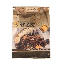 กราโนไวบัส กราโนล่า สูตรดาร์กช็อกโกแลตและกล้วยหอม 350 กรัม