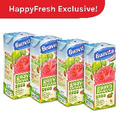 Buavita Guava Juice (Beli 4 Pak Dapatkan GRATIS Ongkos Kirim!)