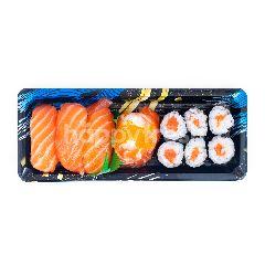 Aeon Set Sushi Salmon Lover