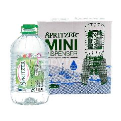 Spritzer Mini Dispenser and Spritzer Natural Mineral Water 6L