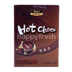 See's Coffee Cokelat Panas