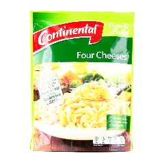 Continental Four Cheeses Pasta