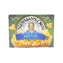 Newman's Own Miicowave Popcorn - Butter