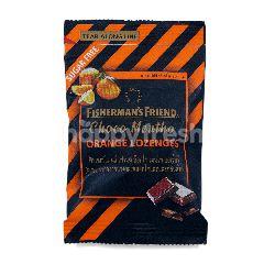 ฟิชเชอร์แมนส์ เฟรนด์ ลูกอม ปราศจากน้ำตาล รสช็อกโกเเลต เเละกลิ่นส้ม 25 กรัม