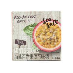 Kiss Delicias Sea Salt Passion Fruit Mint Sugar
