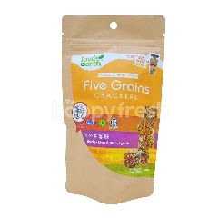 Love Earth Organic Five Grains Crackers
