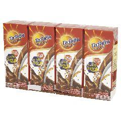 โอวัลติน เครื่องดื่มช็อกโกแลตมอลต์ สูตรนมโค 180 มล. (แพ็ค 4)