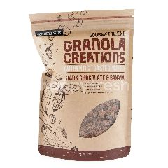 Granola Creations Gourmet Blend Authentic Toasted Muesli Cokelat Hitam & Pisang