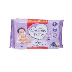 Cussons Tisu Basah Bayi Fresh and Nourish