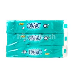 Cutie Compact Twin Ply Tissue (3 X 10 Rolls)