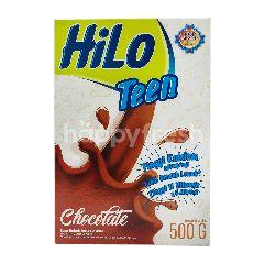 HiLo Teen Susu Bubuk Tinggi Kalsium Kurang Lemak Rasa Cokelat