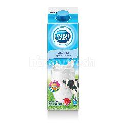 Dutch Lady Milk Pasteurised Pure Farm Low Fat 1L