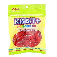 Kise Kisbit+ Premiere Sweet & Sour Preserved Fruits (Kana Merah)