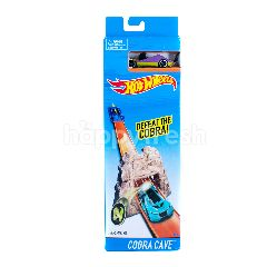 Hot Wheels Mainan Trek Cobra Cave BLR01