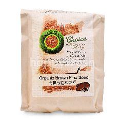 O' Choice Organic Brown Flax Seed