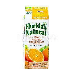 Florida's Natural 100% Jus Jeruk Premium dengan Bulir
