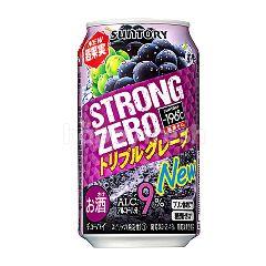 Suntory Strong Zero Grape Alc 9%